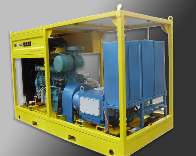 Cavitation jet underwater cleaning equipment JR-CVPS90